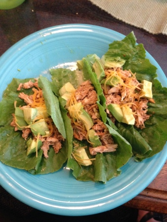 Chicken Lettuce Tacos